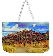 Fall In The Oregon Owyhee Canyonlands  Weekender Tote Bag by Robert Bales