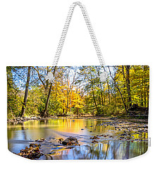 Weekender Tote Bag featuring the photograph Fall In Wisconsin by Steven Santamour