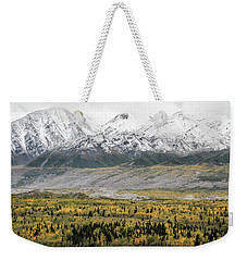Fall In Wrangell - St. Elias Weekender Tote Bag