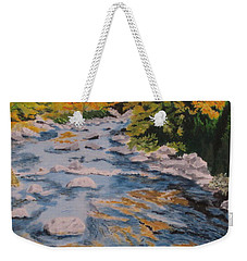 Fall Is Coming Weekender Tote Bag by Hilda and Jose Garrancho