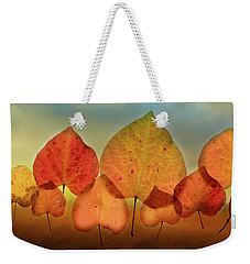 Fall Leaves #3 Weekender Tote Bag