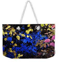 Fall Leaves Reflection Weekender Tote Bag