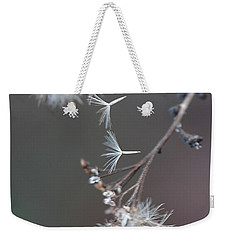 Weekender Tote Bag featuring the photograph Fall - Macro by Jeff Burgess