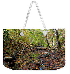 Weekender Tote Bag featuring the photograph Fall Magic by Paul Mashburn