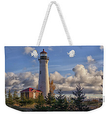 Fall Morning At Crisp Point Weekender Tote Bag