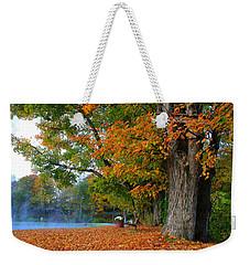Fall Morning In Jackson Weekender Tote Bag