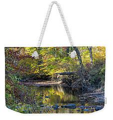 Fall Morning Weekender Tote Bag