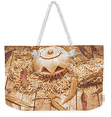 Fall Of Halloween Weekender Tote Bag by Jorgo Photography - Wall Art Gallery
