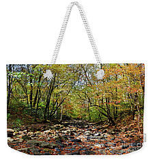 Fall On Clifty Creek Weekender Tote Bag