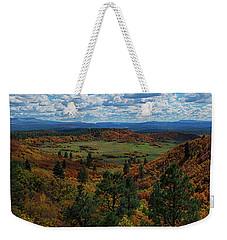 Fall On Four Mile Road Weekender Tote Bag