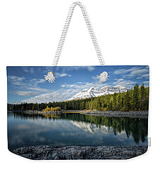 Fall On The Lake Weekender Tote Bag