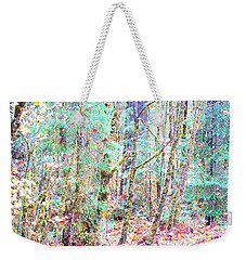 Fall Oregon Forest Weekender Tote Bag