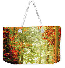 Fall Painting Weekender Tote Bag