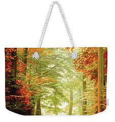 Fall Painting Weekender Tote Bag