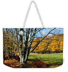 Fall Pasture Weekender Tote Bag