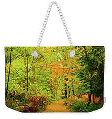 Fall Path Too Weekender Tote Bag