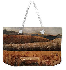 Fall Plains Weekender Tote Bag by Sharon Schultz