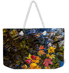 Fall Reflection - Pisgah National Forest Weekender Tote Bag