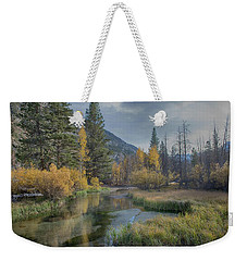 Fall Reflections Weekender Tote Bag
