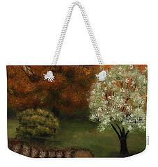 Fall Rendezvous Weekender Tote Bag