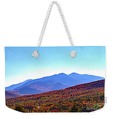 Fall Rolls Through Weekender Tote Bag
