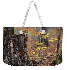 Fall Scene Weekender Tote Bag