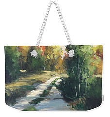 Fall Shadows Weekender Tote Bag