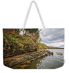 Fall Shoreline Weekender Tote Bag