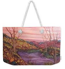 Fall Sky Weekender Tote Bag