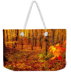 Fall Sugar Bush Weekender Tote Bag