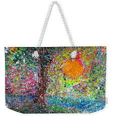 Fall Sun Weekender Tote Bag by Jacqueline Athmann