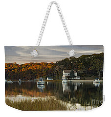 Fall Sunset In Centerport  Weekender Tote Bag