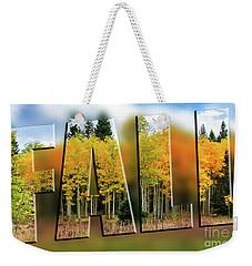Fall Weekender Tote Bag