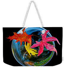 Fall Takes Over Weekender Tote Bag