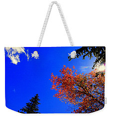 Fall Up Weekender Tote Bag