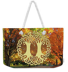 Fall Wedding Weekender Tote Bag