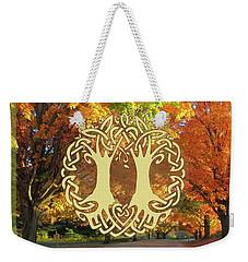 Fall Wedding Weekender Tote Bag