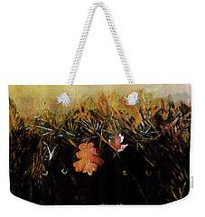 Fall Wind Across The Meadow Weekender Tote Bag by Seth Weaver