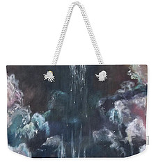 Weekender Tote Bag featuring the painting Fallen 2 by Cheryl Pettigrew