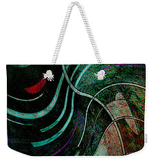 Weekender Tote Bag featuring the digital art Fallen Angle by Sheila Mcdonald