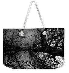 Fallen Dark Wood Forest Weekender Tote Bag