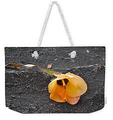 Fallen Flower Weekender Tote Bag