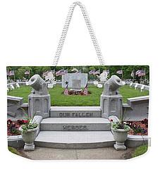 Fallen Heroes Remembered Weekender Tote Bag by Caroline Stella