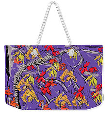 Fallen In Love Weekender Tote Bag by Jason Nicholas