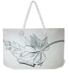 Fallen Leaf Weekender Tote Bag by J R Seymour