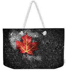 Fallen Leaf Weekender Tote Bag