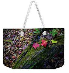 Fallen Leaves On The Limberlost Trail Weekender Tote Bag