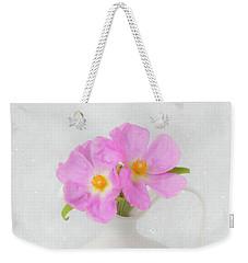 Fallen Petals Weekender Tote Bag