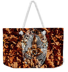 Fallen  Weekender Tote Bag by Randy Sylvia