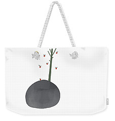 Falling Apples Weekender Tote Bag by Kandy Hurley